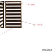 远旺锌钢?生产批发锌钢百叶窗,量大价优