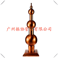 广东美观防雷器古典避雷针纯铜防雷装置