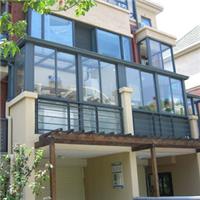 凤铝阳台窗  铝合金门窗 咖啡色门窗   凤铝福州总经销