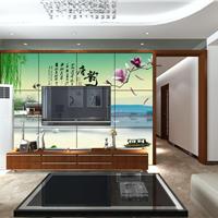 [低价促销]多色瓷砖电视背景墙UV平板打印机