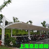 上海富彩公司膜结构停车棚