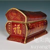 供应陶瓷葬礼用品,设计陶瓷棺材