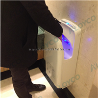 供应ALOYCO品牌双面喷射式干手器丨干手机