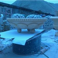 四川成都玛雅石玻璃钢砂岩景观花盆花钵批发