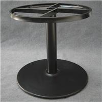 厂家现货供应餐厅超大圆桌圆形铸铁桌台脚