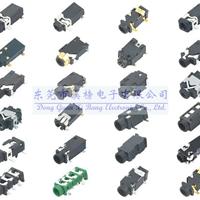 超薄耳机插座/插件耳机插座/插脚耳机插座