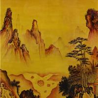 鸿韵酒店大堂装饰画,用艺术的心灵美化世界