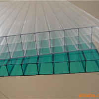 PC阳光板用于有暖设备的建筑,属环保资料