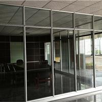 供应高隔铝型材 玻璃隔断 办公装修间隔