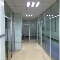 供应办公间隔型材 玻璃隔断设计装修