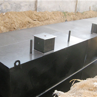 郑州地埋式一体化生活污水处理设备