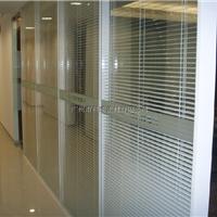 供应高隔断双玻带百叶办公隔断玻璃隔断隔墙