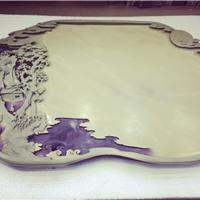 紫袍玉带石茶盘――江山如画
