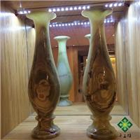 供应天然玉石花瓶工艺品摆饰