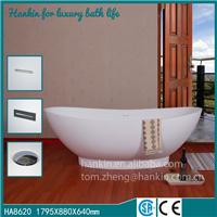 厂家直销人造石独立式浴缸单人缸