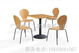 青岛快餐桌椅,青岛快餐店家具