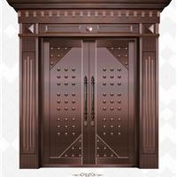 供应铜门 拼接铜艺门