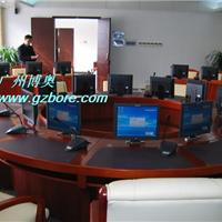 供应圆形液晶屏显示器升降会议桌