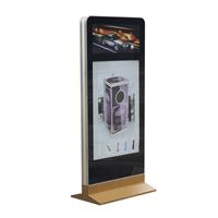 双画面广告灯箱 户外LED灯箱 大堂展示器材