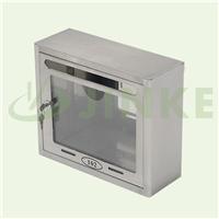 金柯不锈钢信报箱 带锁可视意见箱 投诉箱