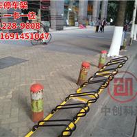 自行车停车架款式多样化