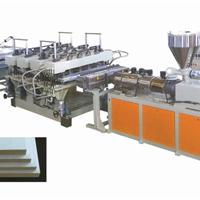 供应pvc木塑结皮发泡板设备