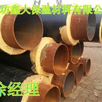 内蒙古聚氨酯直埋式保温管价格