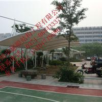 洛阳膜结构车棚,膜结构停车棚