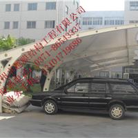 平顶山膜结构车棚 膜结构停车棚
