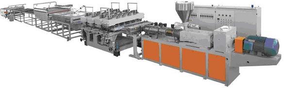 供应木塑装饰型材设备生产线