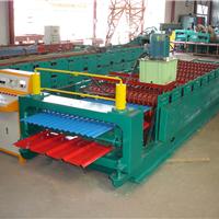 供应双层压瓦机彩钢板生产机器