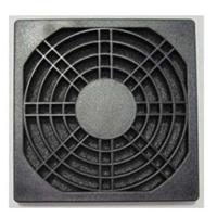 供应120三合一防尘网轴流风机防尘网黑色