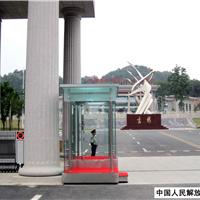 供应青海部队专用不锈钢岗亭2.4*1.5*2.6m