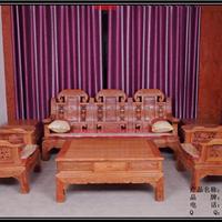 供应东阳红木家具-非洲花梨木沙发-歌意红木
