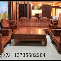 象头沙发-缅甸花梨木家具-歌意红木沙发批发