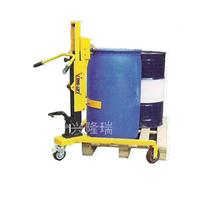 沈阳油桶车 脚踏式油桶搬运车