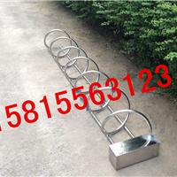 供应不锈钢单车停放架深圳厂家