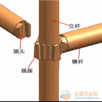 供应承插型键槽式钢管支架