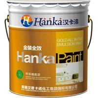 汉卡漆  内墙乳胶漆代理 涂料招商加盟