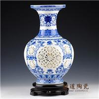 供应花瓶摆件 陶瓷小花瓶批发 高档艺术花瓶