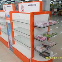 供应木质烤漆展柜 服装货架 化妆品展柜