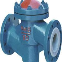 福建升降式衬氟止回阀H41F46-16C