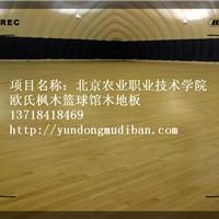 体育馆龙骨运动实木地板施工