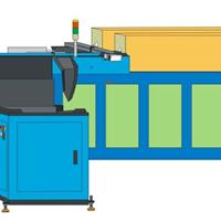 中频炉自动上料机气动推料改装案例