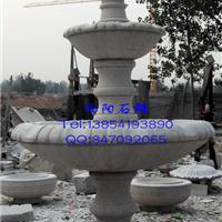 天水石雕厂家直销黄锈石水钵黄金麻水钵喷泉