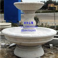厂家直销 石雕水钵 石材水钵价格黄锈石水钵