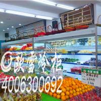 供应长乐市2-4米立式水果保鲜风幕柜