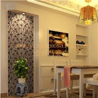 供应玻璃金属混拼马赛克适用家装或酒店大堂