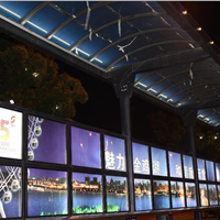 供应广州地铁通道耐力板广告灯箱
