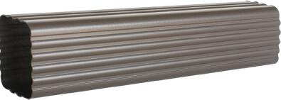 供应彩铝成品天沟彩色铝管彩色方管